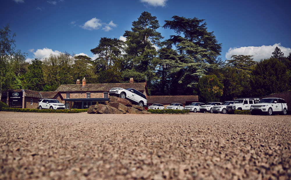 Eastnor Castle Land Rover Gourmet experience
