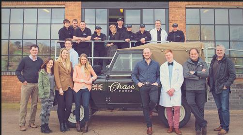 Chase Distillery Team Verzon House Hotel