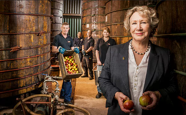 Westons Cider family Verzon House Hotel Daily Telegraph