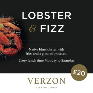 Lobster and Fizz
